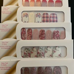 Colorstreet pretty in pinks bundle 5 sets